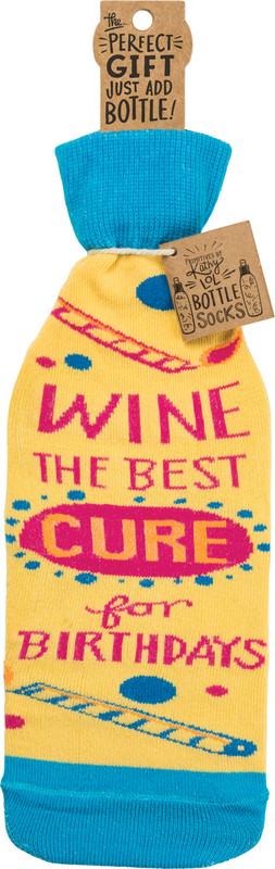bottle sock, gift for host, hostess, wine, wine sock