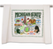 dish towel, michigan pride, msu, michigan state university