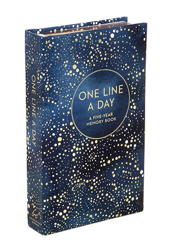 five year journal, one line a day, journal, inspirational, pretty