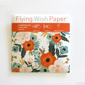 flying wish paper, party, idea, activity, inspirational, blessing