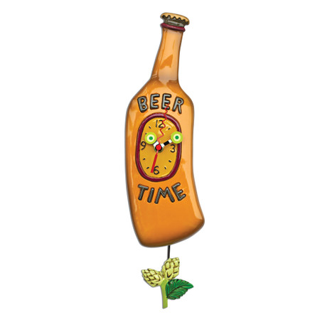 Beer Time Clock   Whimsical, Clock, Home Decor   Allen Designs ...