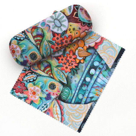 glasses case, whimsical, cheery
