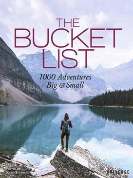 bucket list, adventures, inspirational, books