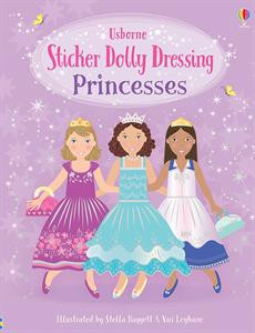 stickers, princesses, dolly, little sticker dolly, books for kids