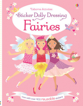stickers, fairies, dolly, little sticker dolly, books for kids
