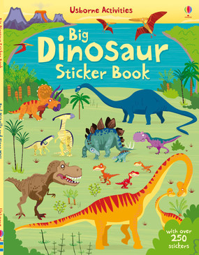 sticker book, stickers, dinosaurs, dinos