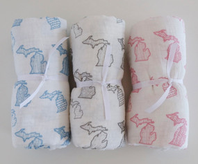 swaddle, michigan, baby shower, gift, organic cotton, earth friendly