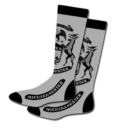 socks, michigangster, michigan, fun, funny