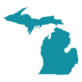 michigan, michigan pride, sticker, decoration