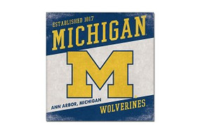 university of michigan, u of m, university pride, michigan pride, home decor
