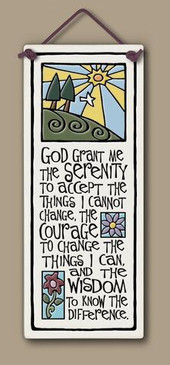 home decor, decoration, tile, wall tile, hanging tile, home, inspirational, housewarming gift, happiness, faith, serenity prayer, god, religious