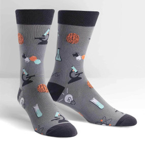 socks for men, science, science of socks, fun socks