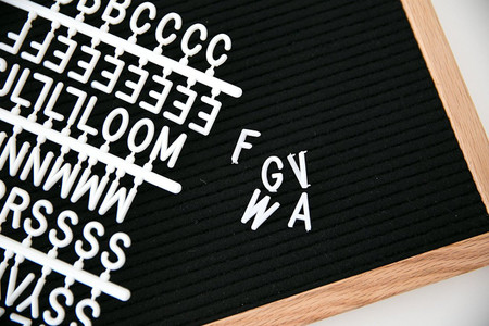 letter board, crafting, personalized, creativity, felt letter board
