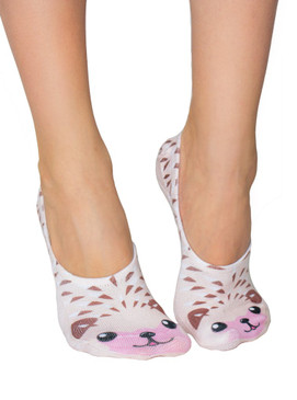 socks, animal, cute, liner socks