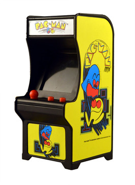 tiny arcade, pac man, video game