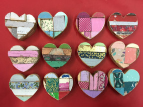extra small heart (assorted colors)