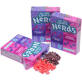 willy wonka grape strawberry nerds candy candies retro stocking stuffer for kids