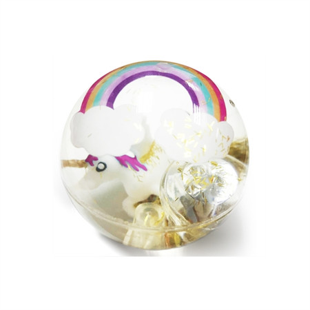 These light-up unicorn bouncy balls make an excellent stocking stuffer! Assorted colors.