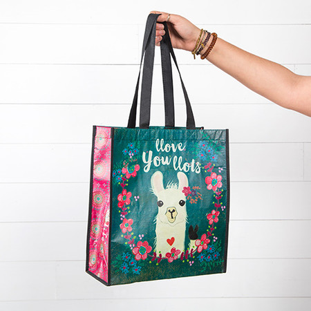 llove you llots llama large gift bag