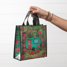 happy camper medium gift bag