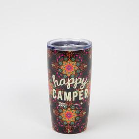 happy camper water tumbler