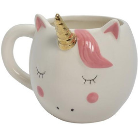 Make any drink extra magical when sipping it out of this pretty unicorn. Made by streamline.