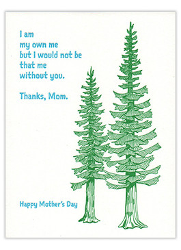 I am my own me | mother's day card