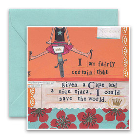 I am fairy certain | inspirational card