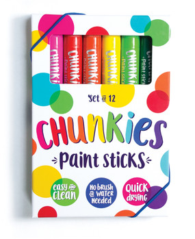 chunkies paint sticks - set of 12