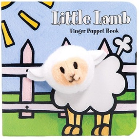 An adorable finger puppet peeks through a direct hole on each page making this book an excellent way to read and play.