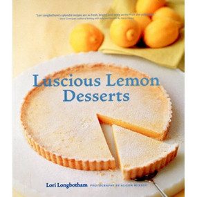 Lemon sweets are the divas of desserts. Assertive and bold, lemons can be flamboyant, tart, and tangy as in the Lemon Granita or sweet, mellow, and velvety like the creamy Lemon Panna Cotta. Over 70 recipes--from the classics to lip-smacking new favorites--are all enticingly presented in Luscious Lemon Desserts. These recipes vary from the simple to the sublime, from the quick and easy to the most elaborate showstoppers. Author Lori Longbotham provides great tips on buying, storing, and using this most popular fruit. Whether it's a fast and fabulous lemon pudding or a Mile-High Lemon Angel Food Cake, the name says it all: Luscious Lemon Desserts. Yum!