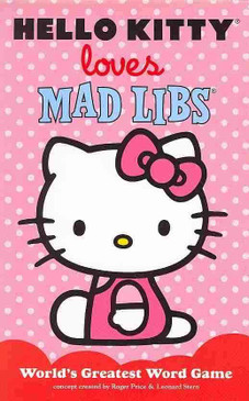Hello Kitty Loves Mad Libs is our newest original Mad Libs, featuring 48 pages of funny stories to fill in—on pink paper, perfect for Valentine's Day. It's the ultimate gift for the Sanrio fan, no matter their age!