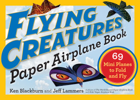 Welcome to the world of flying animals! It's entertainment on the fly for the office, backyard, classroom (don't get caught!), or anywhere there might be a party, featuring 12 Lilliputian-size models that create 69 planes altogether. From the Dragon to the Stingray, Beetlebot to the Beach Bomber, these flying creatures are vibrantly colored and gorgeously designed to resemble animals that fly, both real and imaginary. Fold up an antennaed Scarab and the sharklike Predator. Includes step-by-step folding instructions and tips on how to send each plane soaring at its full aerodynamic potential.