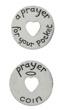 a prayer for your pocket pewter coin token gift for mom girlfriend grandmother person that has everything inspirational