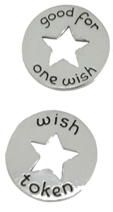 wish star coin token gift for mom girlfriend grandmother person that has everything inspirational good for one wish