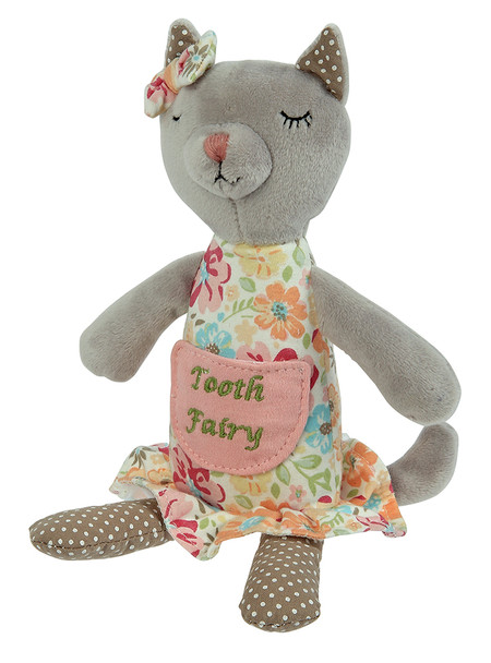 "Our tooth fairy pillow is a fun and unique way to keep that all important lost tooth safe for the Tooth Fairy! Each tooth fairy features a pocket for the loot / tooth. 9"" tall."