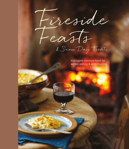Indulgent comfort food recipes for winter eating Compiled by: Ryland Peters & Small  When the weather turns cold, what could be better than sitting by the fire and enjoying home-cooked food with family and friends. From comforting casseroles and bakes to seasonal snacks and warming drinks – this is the ideal cook's companion for the winter months. Make the most of being holed up indoors and prepare some warming Snow Day Snacks. Enjoy sharing tasty treats such as Creamy Pancetta and Onion Tart or Cheddar and Cider Fondue. When it's chilly outside, what we naturally crave is comforting food. In Cold Day Comforts you'll find plenty of warming dishes including Spiced Pumpkin and Coconut Soup or Salmon Broccoli and Potato Gratin with Pesto.  What better way to spend an icy afternoon than preparing a delicious meal to share with family and friends. Fireside Feasts is full of great ideas for winter entertaining. Try a Braised Pot Roast with Red Wine, Rosemary and Bay or Slow-cooked Lamb Shanks with Lentils. Make the most of the finest seasonal ingredients the winter has to offer and prepare healthy and satisfying Winter Salads. Choose from recipes such as Steak and Blue Cheese Salad or Roast Butternut Squash Salad with Spiced Lentils, Goat Cheese and Walnuts. Whether you enjoy a luxurious dessert or a slice of cake in front of the fire, there are plenty of delicious options to choose from in Indulgent Treats. Try Pecan Cheesecake Swirl Brownies, Arctic Roll with Vanilla and Chocolate or Brown Sugar Pavlova with Cinnamon Cream and Pomegranate.   Finally, in A Cup of Cheer there are plenty of ideas for festive drinks and toddies. Relax at home with a warming Chocolate Marshmallow Melt or enjoy winter entertaining with a delicious Mulled Wine, guaranteed to make any holiday gathering a success.  176 pages Format: Paper over board
