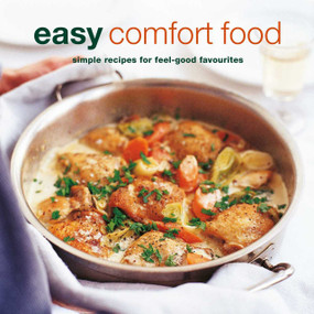 Over 100 delicious recipes for feel-good favorites Indulge your senses and warm your soul with more than 100 foolproof recipes for Easy Comfort Food from soups and stews to baked desserts and cookies. Sometimes, when the weather is gray and the day just hasn't gone your way, we don't want to think about cooking complex meals packed with the latest nutritional food-fad. Sometimes what we need is something simple, soothing, and satisfying. Something to fill our bellies and put a smile on our faces. Welcome to Easy Comfort Food. You'll find over 100 recipes to lift your spirits, including Macaroni Cheese, Chicken Noodle Soup, Creamy Fish Pie, Extra-crunchy Peanut Butter Cookies, Rocky Road Cupcakes, Lemon Meringue Pie, Banana Splits with Hot Fudge Sauce, and so much more! There are meals, snacks, and baked goods to suit every occasion so you'll never feel down about food again. These fuss-free recipes are easy to follow, easy to make, and even easier to eat!   240 pages  Format: Paperback
