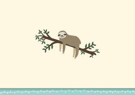 Brighten someone's day (and maybe encourage them to relaaaxx?) with this adorable Sloth Note Card!  Premium boxed stationery set comes with 14 note cards and 15 matching envelopes. Quality card stock takes pen beautifully. Card interiors are blank for your personal message. Our winsome sloth hangs out on its branch above the card's white-trimmed mint green border. Sloth, branch, and leaves ''pop'' with shining gloss accents and raised embossing. A unique linen finish adds tactile appeal. Matching mint green envelopes. Cards measure 5'' wide x 3-1/2'' high.