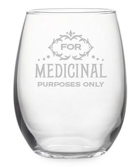 It's prescribed... I swear. Size: 21 oz