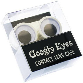 "A fun storage lens case for home or travel.  Material: ABS Size: 2.5""L x 1.5""W x 0.75""H"