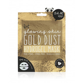 This hydrogel face mask contains gold dust elements to rejuvenate the skin and leave you with a goddess glow. This face shaped sheet mask is made of gel, super intensive with high absorbency. 90% of the hydrogel mask is made up of the mask essence itself so it absorbs easily into the skin. Pack Size 150 X 164mm