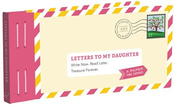 By Lea Redmond  This keepsake book of twelve prompted letters offers parents a unique way to send love, support, and advice to a daughter of any age. Once filled out, sealed, and postdated, these letters will become a personalized gift that she'll treasure for years to come.  Size: 7 15/16 x 3 3/4 in  Pages: 12 pp