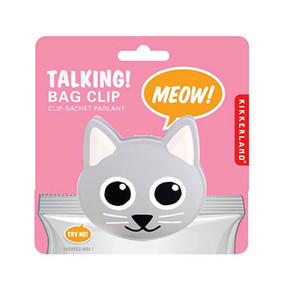 This cute bag clip makes a meowing sound every time you use it. Give this to any cat-lover and make their day!
