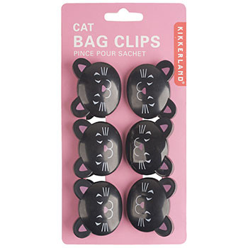 These cute bag clips can be used to seal all different types of bags. Comes in a set of 6.