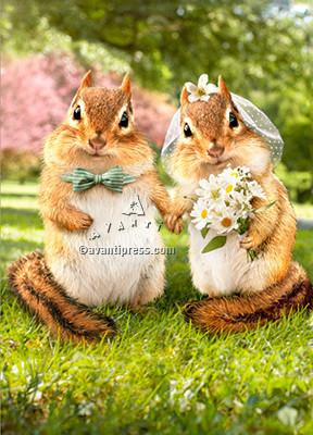 Obviously, you're nuts about each other! Congratulations