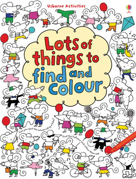 An irresistible book with delightful illustrations just begging to be coloured in. Each page includes a number of simple – and not so simple – things to find and colour. Provides hours of creative and colouring fun.  Format: paperback 96 pages Age: 4 +