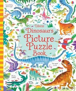 A wonderfully illustrated puzzle book teeming with dinosaurs to spot, count, and match. An activity book children will want to share and scrutinize with friends and family.   Age: 4+   Size: 9 3/4 x 11 3/4  Pages: 32