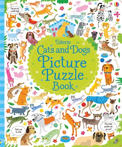 Cats And Dogs Picture Puzzle Book