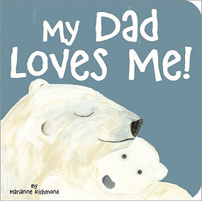 My dad protects me. My dad naps with me. My dad teaches me.Featuring adorable illustrations from Marianne Richmond, My Dad Loves Me illustrates all the ways a dad shows his love to his children Kids can relive their best times with Dad every day  Format: board book Ages: 2-4 Pages: 24